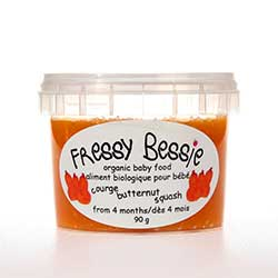 Butternut Squash Baby Food - All natural baby food in Toronto, www.fressybessie.com