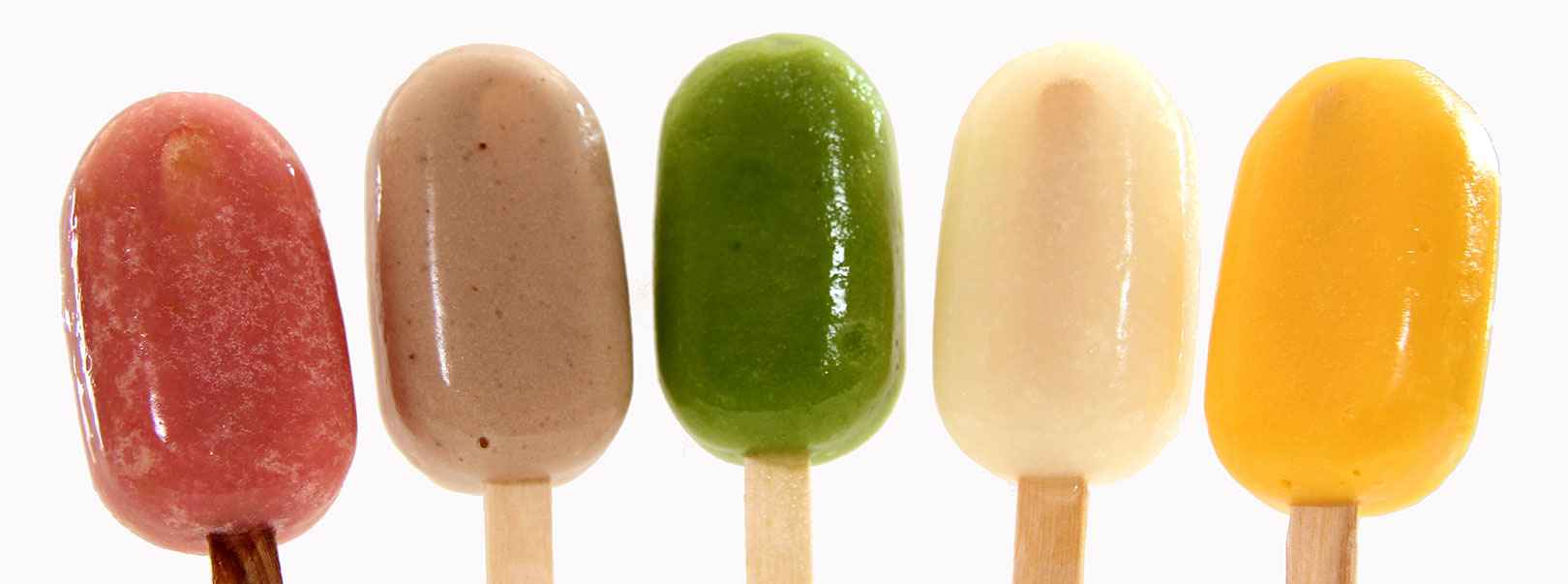 Our ice lollies contain no added sugar.