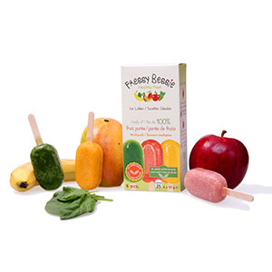 All natural ice lollies in Toronto, www.fressybessie.com