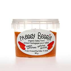 Sweet Potato Baby Food - All natural baby in Toronto, www.fressybessie.com