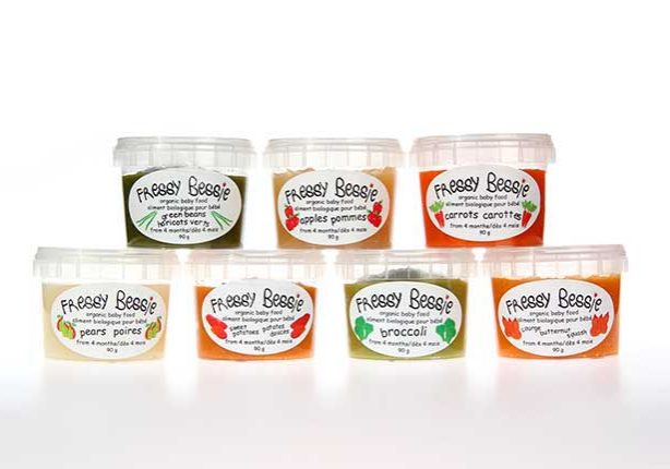All natural baby food in Toronto, www.fressybessie.com